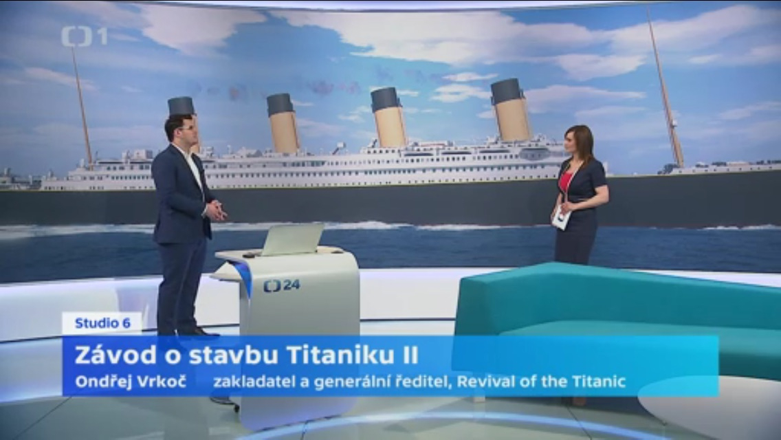 The dream of the modern Titanic - interview